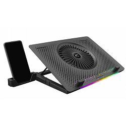 Hladilo za laptop WHITE SHARK GCP-33 ICE MASTER RGB