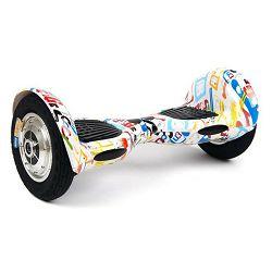 Hoverboard KOOWHEEL C10 bijeli grafiti (10