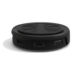 Bežični punjač i USB hub ADAM CASA 07, USB-C