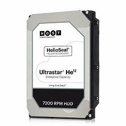 Hard disk HDD WESTERN DIGITAL Ultrastar DC HDD Server HE12 (3.5, 12TB, 256MB, 7200 RPM, SATA 6Gb/s, 4KN SE)