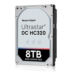 HDD Server WD/HGST Ultrastar 7K8 (3.5'', 8TB, 256MB, 7200 RPM, SATA 6Gb/s, 512E SE), SKU: 0B36404