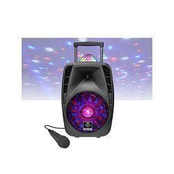 Party zvučnik IDANCE Groove 426 (500W, BT, disco LED, karaoke, FM, baterija, mikrofon, kotačići)
