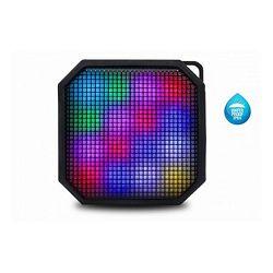 Prijenosni zvučnik iDance vodootporan, Bluetooth, disco LED, 10W, baterija BM-2L