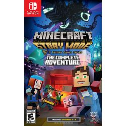 Igra za NINTENDO SWITCH Minecraft Story Mode: The Complete Adventure