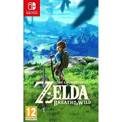 Igra za NINTENDO SWITCH The legend od Zelda: Breath of the wild