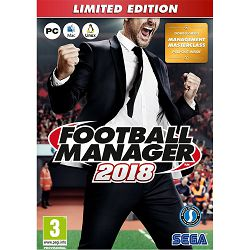 Igra za PC FOOTBALL MANAGER 2018 Limited edition