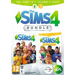 Igra za PC The Sims 4 Base Game + The Sims 4 EP7 Island Living bundle