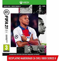 Igra za XBOX ONE FIFA 21 Champions Edition