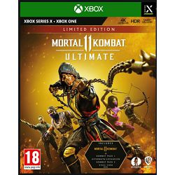Igra za XBOX WARNER BROS Mortal Kombat 11 Ultimate Steelbook