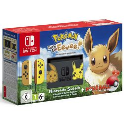 Igraća konzola NINTENDO Switch Lets Go Eevee Edition (Pokemon:Lets Go Eevee+Poke Ball)