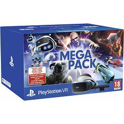Igraća konzola PLAYSTATION VR Mega Pack VCH + VR Worlds VCH + Camera v2 Mk4