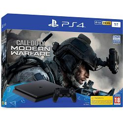 Igraća konzola SONY PLAYSTATION 4 1TB F Chassis + CALL OF DUTY: Modern Warfare 2019