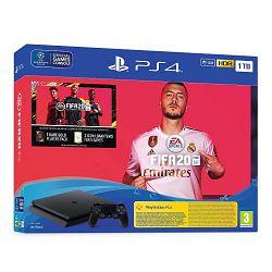 Igraća konzola SONY PlayStation 4 1TB F chassis + FIFA 20 + FUT 20 VCH + PS Plus 14 Days