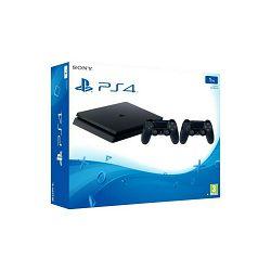 Igraća konzola SONY PLAYSTATION 4 1TB Slim F CHASSIS crni + Dualshock Controller v2