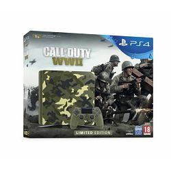 Igraća konzola SONY PLAYSTATION 4 1TB Slim E CHASSIS camo + Call of Duty:WWII