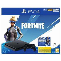 Igraća konzola SONY PlayStation 4 500GB F chassis + Fortnite VCH (2019)