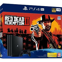 Igraća konzola SONY PLAYSTATION 4 PRO 1TB G chassis + Red dead redemption 2