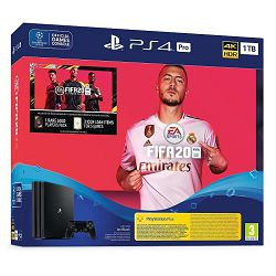 Igraća konzola SONY PlayStation 4 Pro 1TB G chassis + FIFA 20 + FUT 20 VCH + PS Plus 14 Days