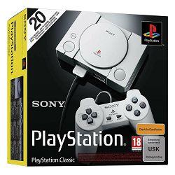 Igraća konzola SONY PLAYSTATION CLASSIC + 20 igara