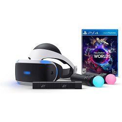 VR naočale SONY PlayStation VR + Camera v2 + PS Move x2 + VR Worlds + Demo Disc