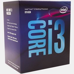 Intel Core i3 8100 3.6GHz,6MB,4C,LGA 1151