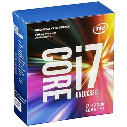 Intel Core i7 7700K 4,2GHz,8MB,LGA 1151,bez hladnj