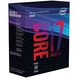 Intel Core i7 8700k 3,7GHz,12MB, 6C/12T,LGA 1151