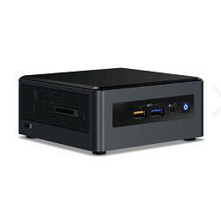 Intel NUC 8 Mainstream-G mini PC with Intel Core i7, 8GB RAM, 256GB SSD, Windows 10, w/ EU cord, single pack