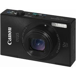 Fotoaparat CANON IXUS 500HS Crni + poklon memorijska kartica 8GB