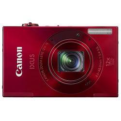 Fotoaparat CANON IXUS 500HS Crveni + poklon memorijska kartica 8GB