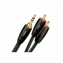 Kabel AUDIOQUEST 3.5mm - 2RCA TOWER 1m