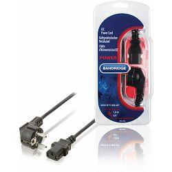 Kabel BANDRIDGE BPL2302 strujni šuko, 1.8m