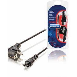 Kabel BANDRIDGE BPL2502 strujni za laptope, 1.8m