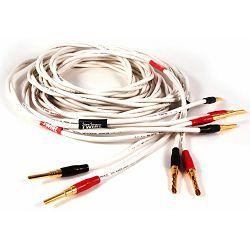 Kabel BLACK RHODIUM TWIRL audio cable - terminirani 2x2.5m