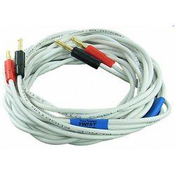 Kabel BLACK RHODIUM TWIST 2x2,5M terminirani