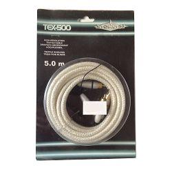 Kabel RCA+REMOTE 5M STEALTH TEX-500