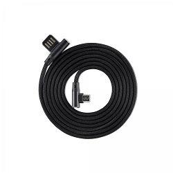 Kabel SBOX USB - MICRO USB 90 M/M 1,5M crni