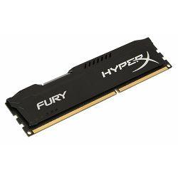 RAM memorija KINGSTON DDR3 HYPERX FURY, 1866MHZ, 4GB crni