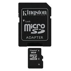 Memorijska kartica KINGSTON microSDHC, Class4, 8GB