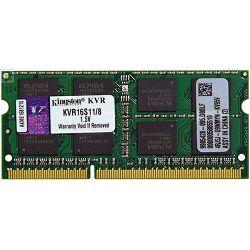 RAM memorija KINGSTON DDR3 SODIMM,1600MHz, 8GB