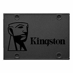 SSD KINGSTON 480GB A400 SATA3 2.5 SSD (7mm height), TBW 160TB, EAN: 740617263442