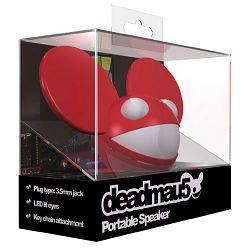 Prijenosni zvučnik DEADMAU5 Mini Buddy crveni