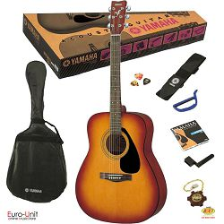Klasična gitara YAMAHA F-310P TBS set