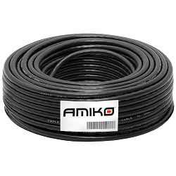 Koaksijalni kabel AMIKO RG6/90db - 1m