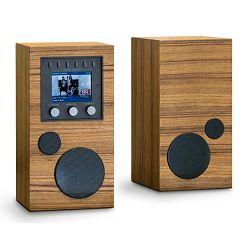 Kompaktni audio sustav + dodatni zvučnik COMO AUDIO Amico + Amica bundle teak
