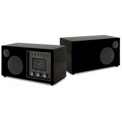 Kompaktni audio sustav + dodatni zvučnik COMO AUDIO Solo + Ambiente bundle black