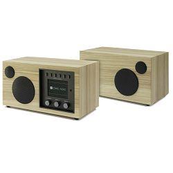 Kompaktni audio sustav + dodatni zvučnik COMO AUDIO Solo + Ambiente bundle hickory