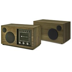 Kompaktni audio sustav + dodatni zvučnik COMO AUDIO Solo + Ambiente bundle walnut