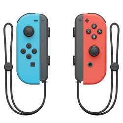 Kontroler NINTENDO SWITCH Joy-Con Neon crveni / Neon plavi