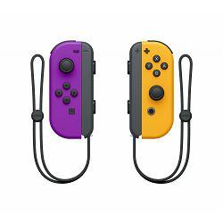Kontroler NINTENDO SWITCH Joy-Con (par) Neon ljubičasti + Neon narančasti